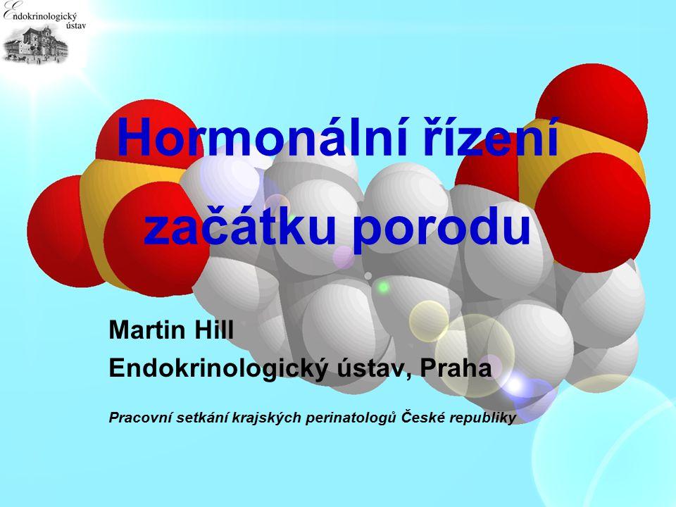Hormonální řízení začátku porodu