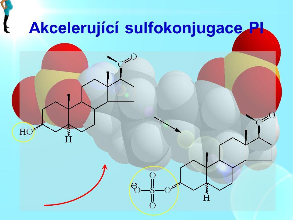 Akcelerující sulfokonjugace PI