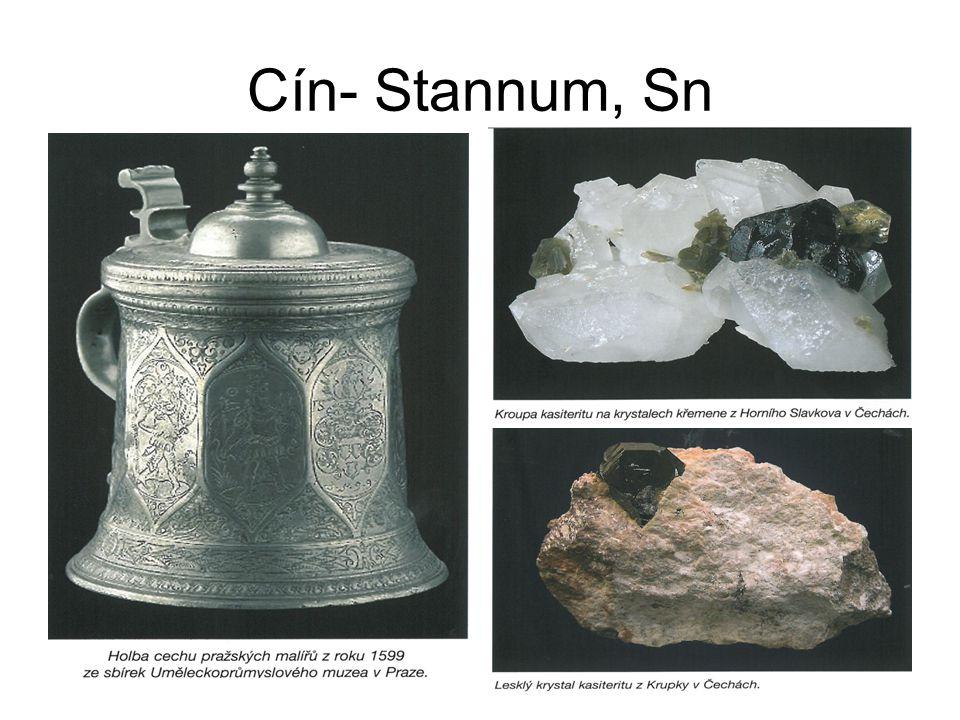 Cín- Stannum, Sn