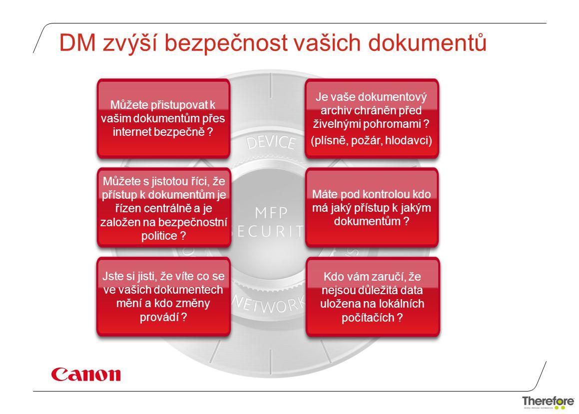DM zvýší bezpečnost vašich dokumentů