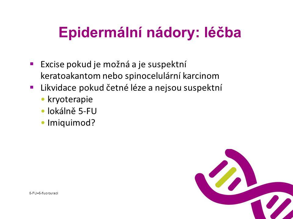 Epidermální nádory: léčba