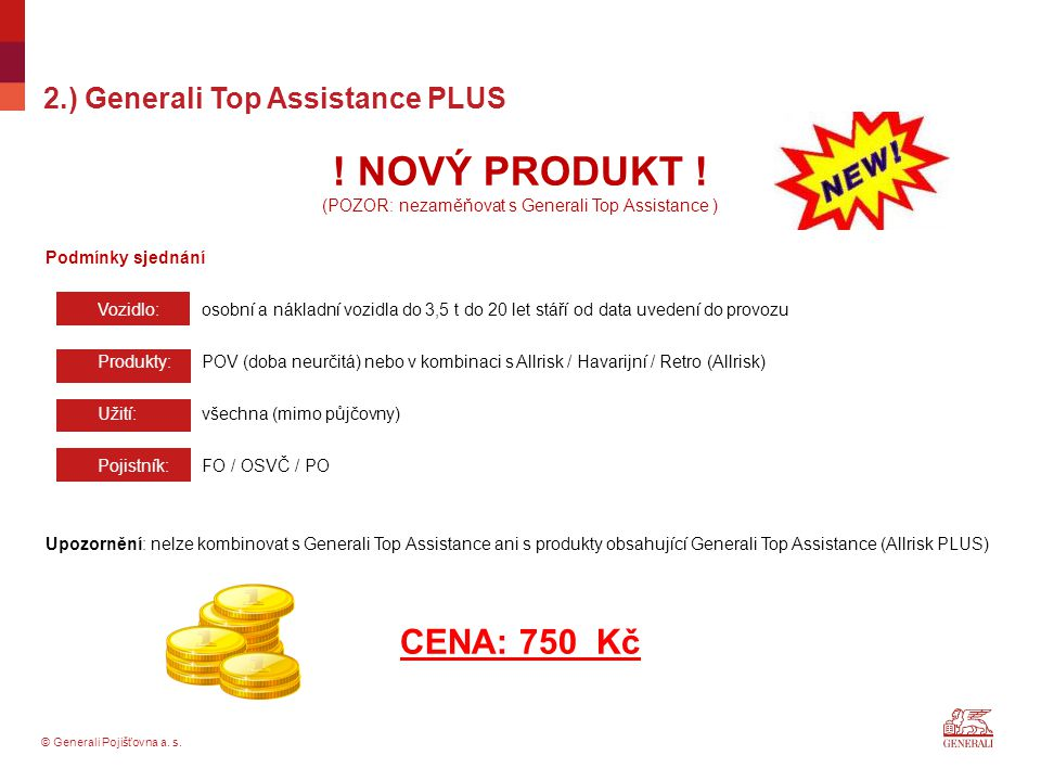 2.) Generali Top Assistance PLUS