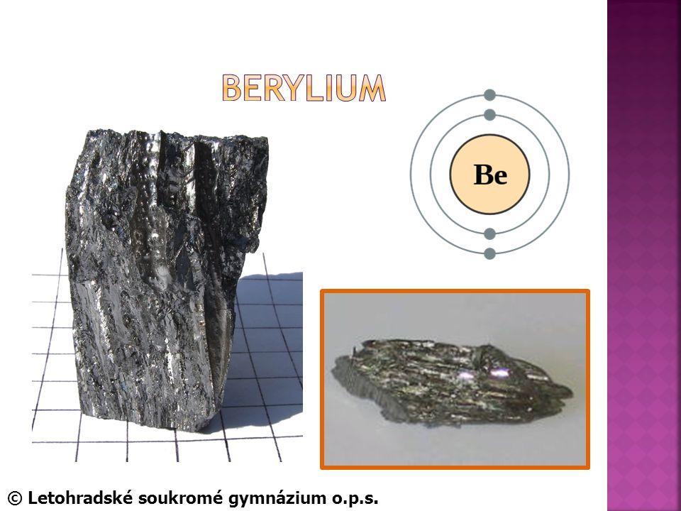BerYlium © Letohradské soukromé gymnázium o.p.s.