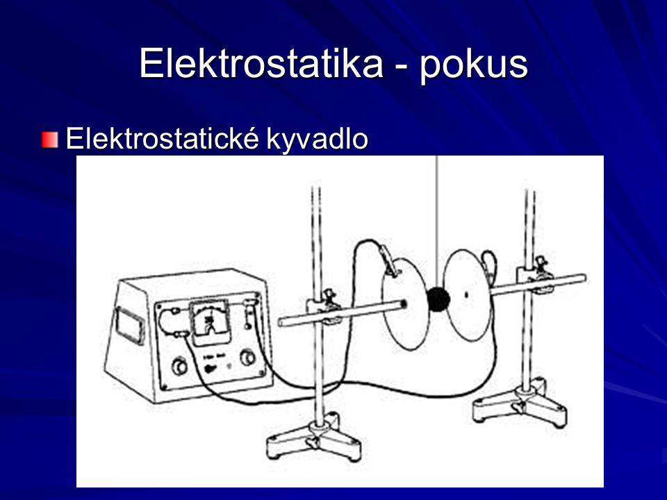 Elektrostatika - pokus