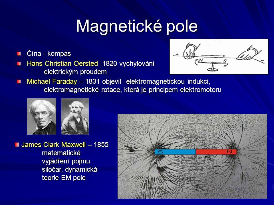 Magnetické pole Čína - kompas