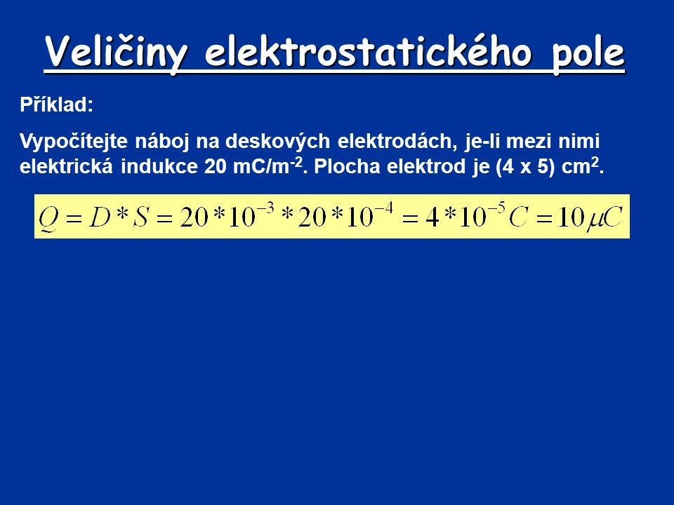 Veličiny elektrostatického pole