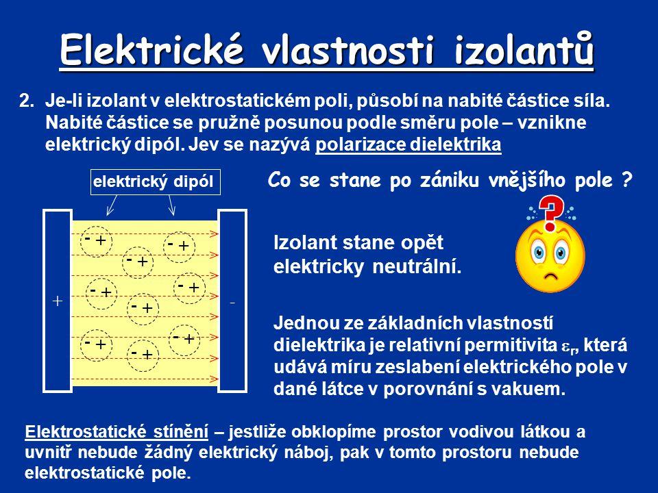 Elektrické vlastnosti izolantů