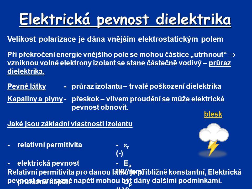 Elektrická pevnost dielektrika