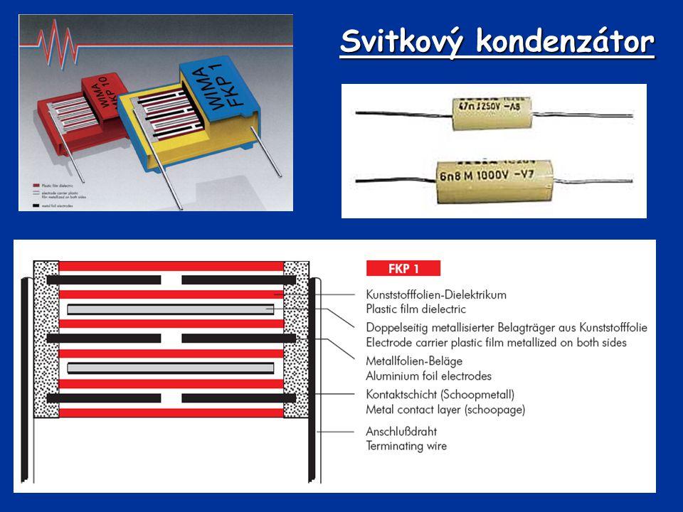 Svitkový kondenzátor