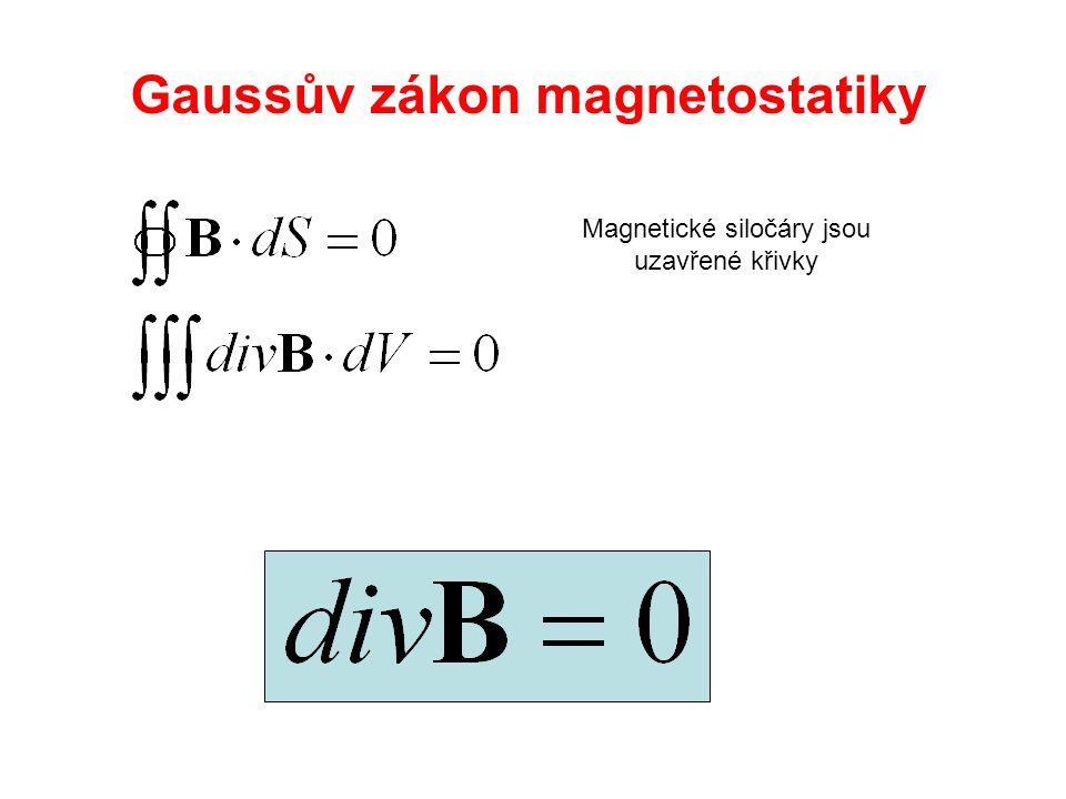 Gaussův zákon magnetostatiky
