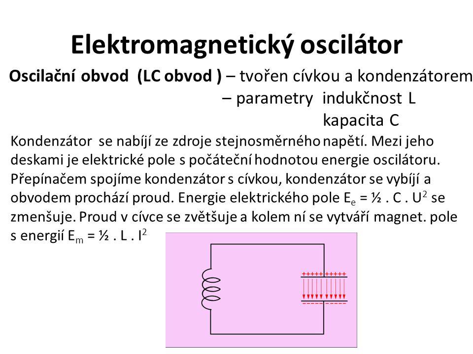 Elektromagnetický oscilátor