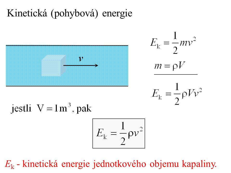 Kinetická (pohybová) energie