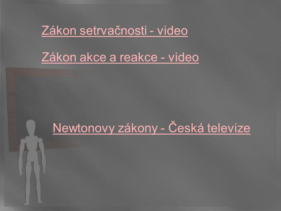 Zákon setrvačnosti - video