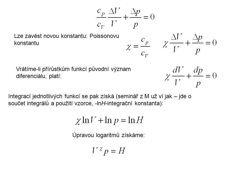 Lze zavést novou konstantu: Poissonovu konstantu