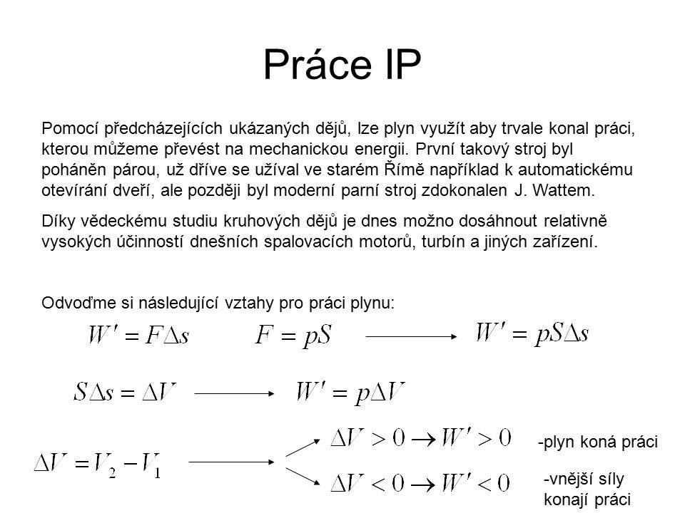 Práce IP