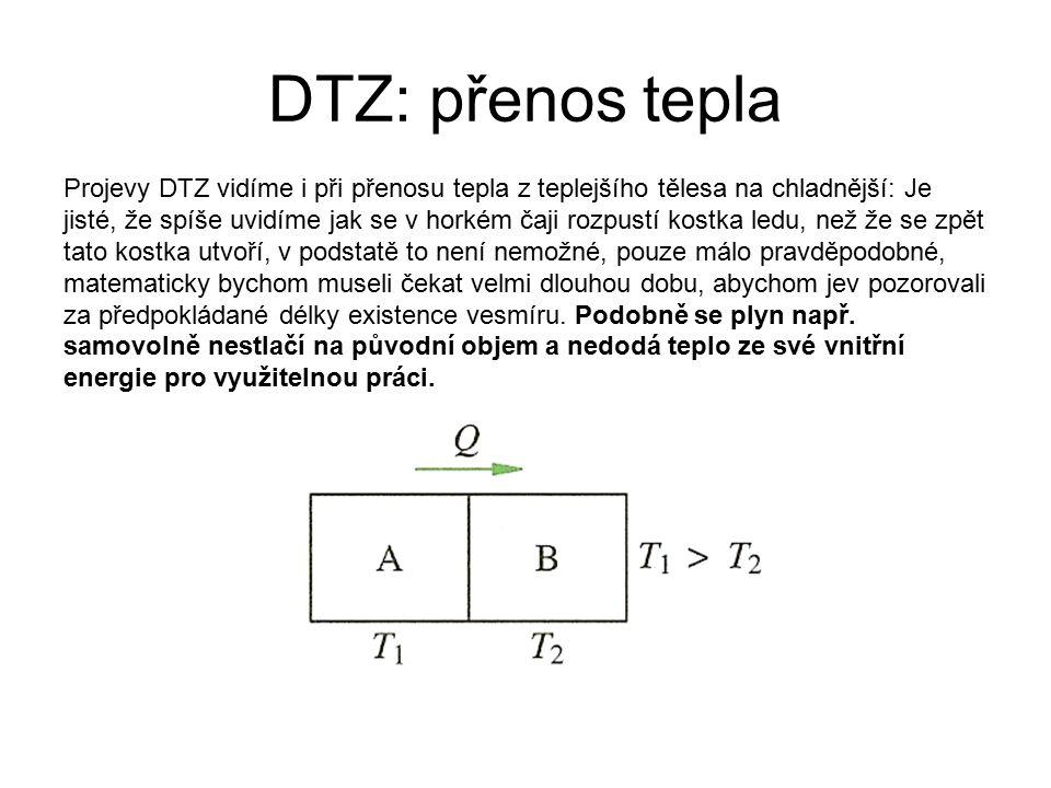 DTZ: přenos tepla
