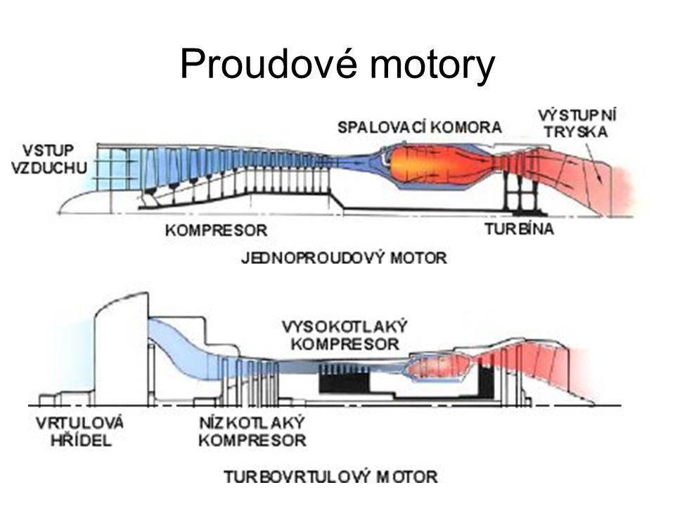 Proudové motory