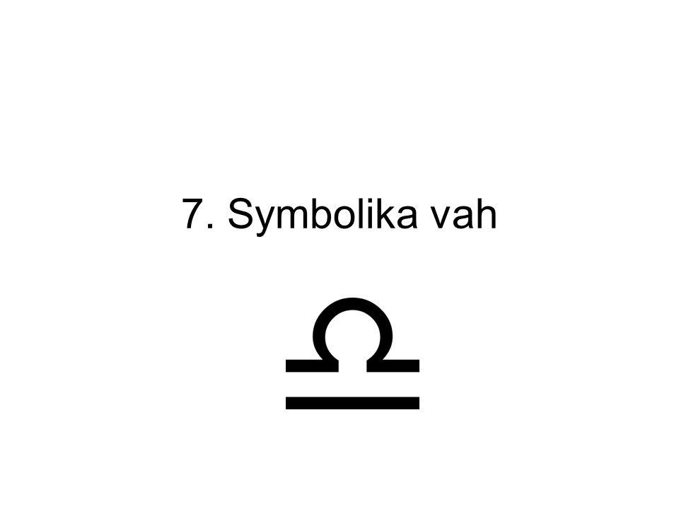 7. Symbolika vah