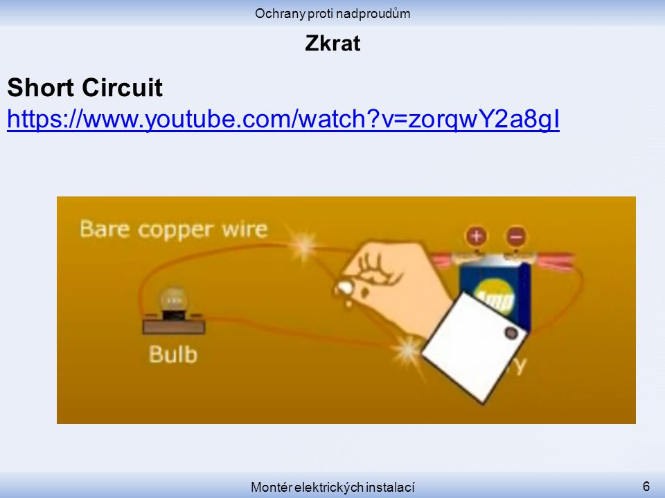 Short Circuit https://www.youtube.com/watch v=zorqwY2a8gI Zkrat