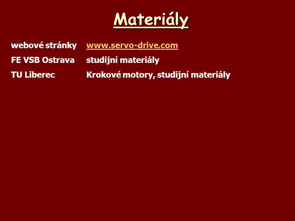 Materiály webové stránky www.servo-drive.com