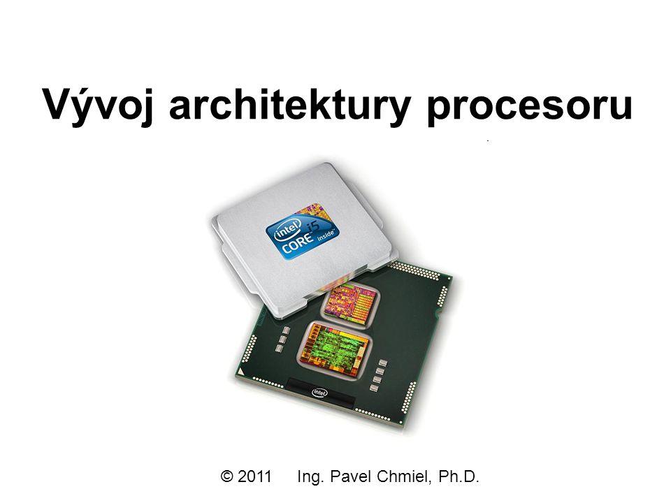 Vývoj architektury procesoru