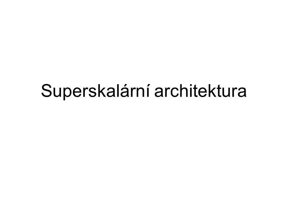 Superskalární architektura
