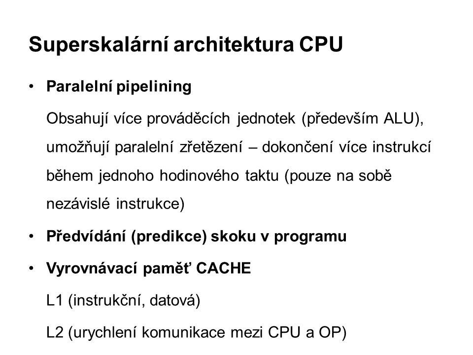 Superskalární architektura CPU