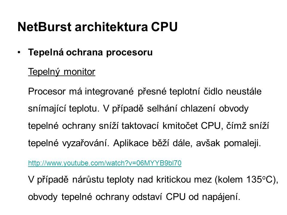 NetBurst architektura CPU