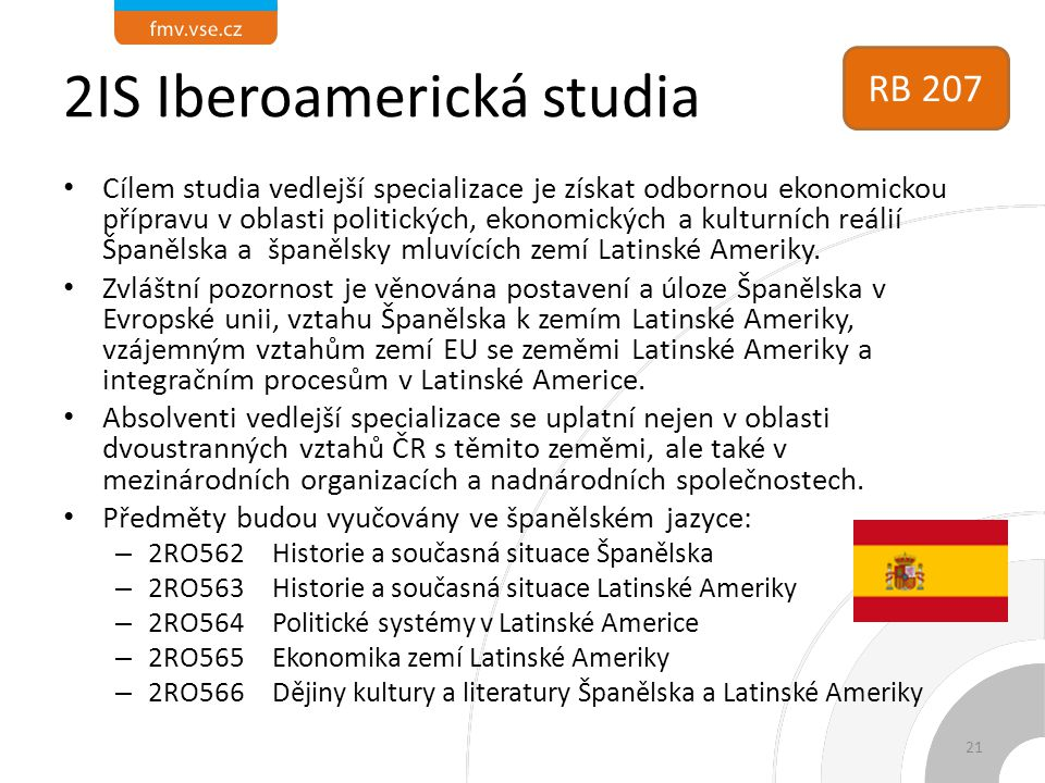 2IS Iberoamerická studia