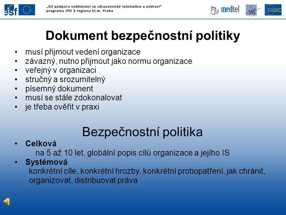 Dokument bezpečnostní politiky
