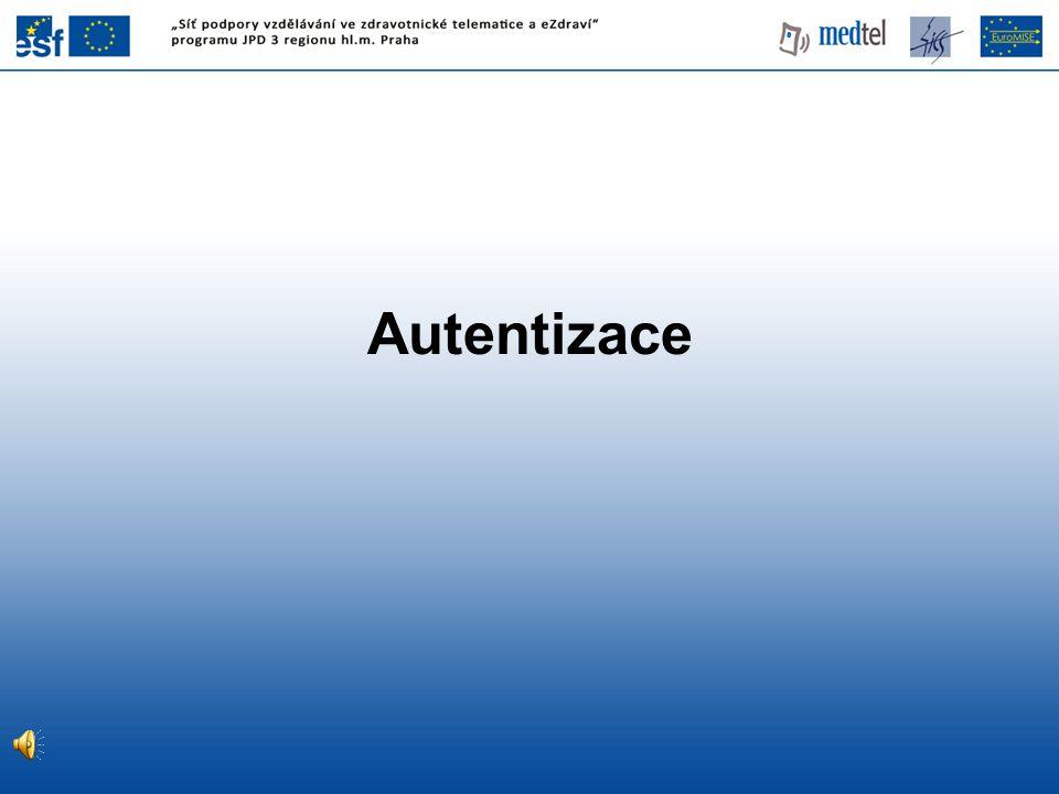 Autentizace