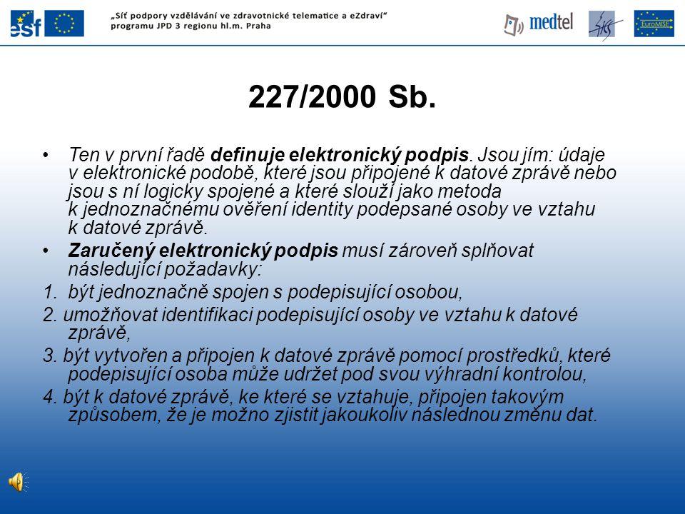 227/2000 Sb.