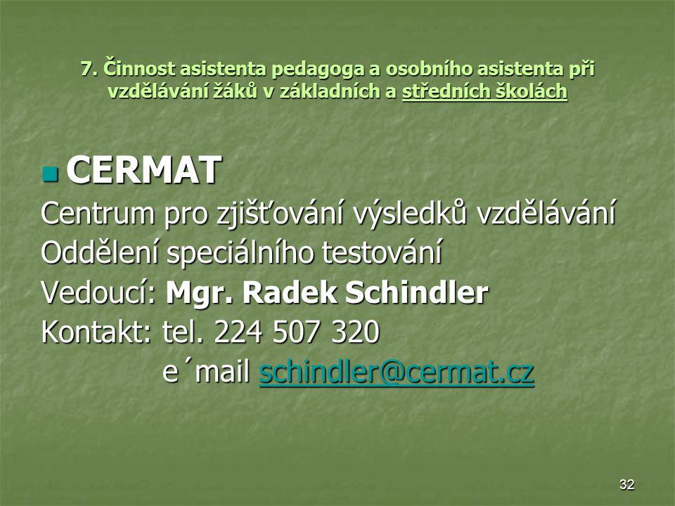 CERMAT Centrum pro zjišťování výsledků vzdělávání
