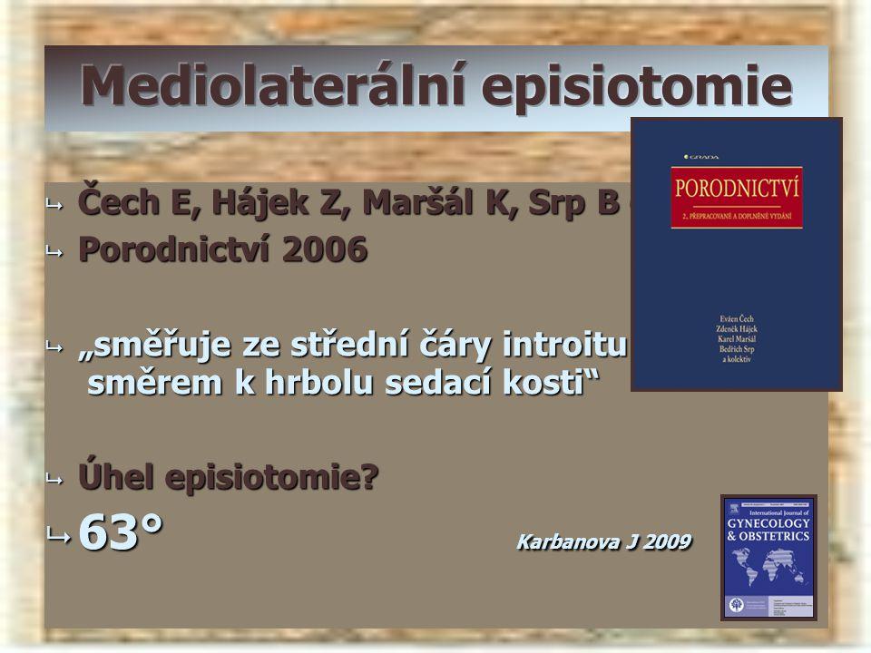 Mediolaterální episiotomie