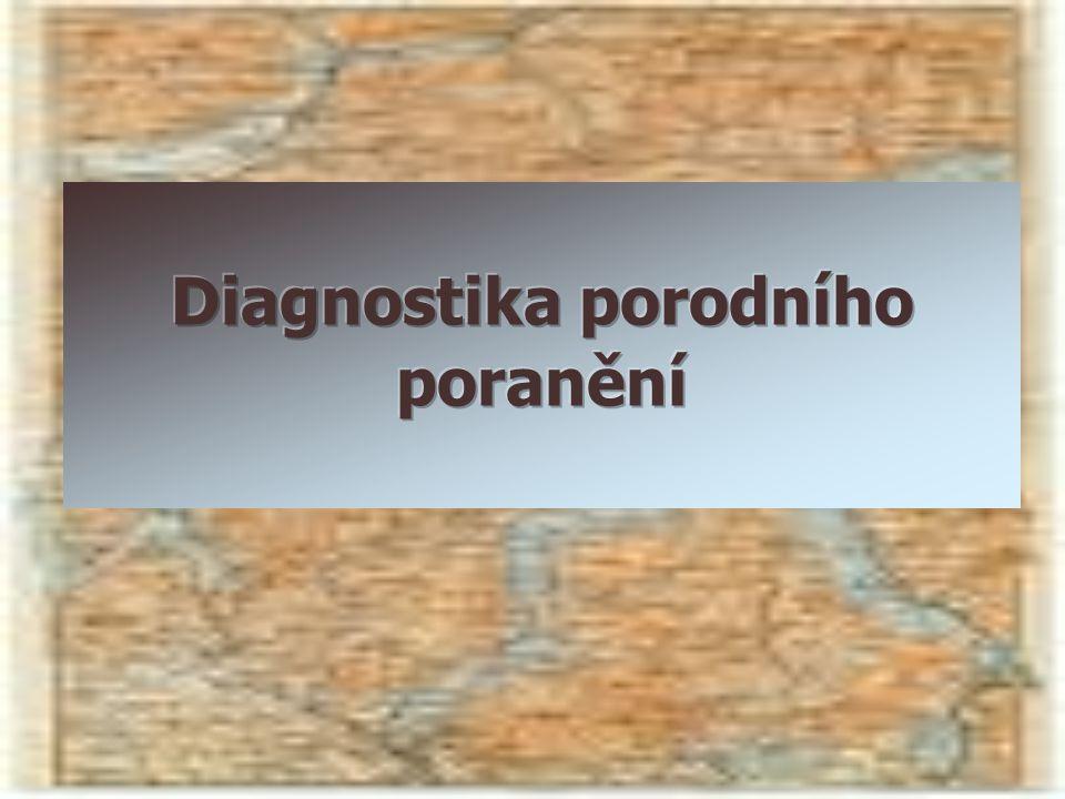 Diagnostika porodního poranění