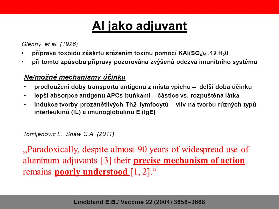 Lindbland E.B./ Vaccine 22 (2004) 3658–3668
