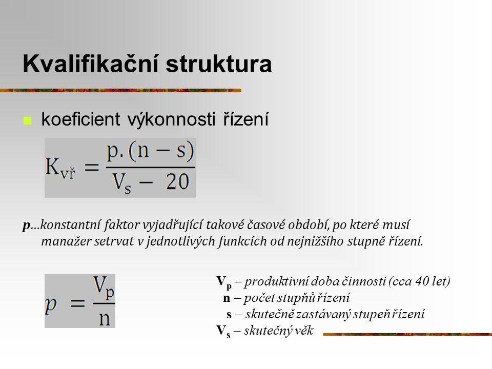 Kvalifikační struktura
