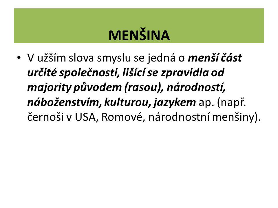 MENŠINA