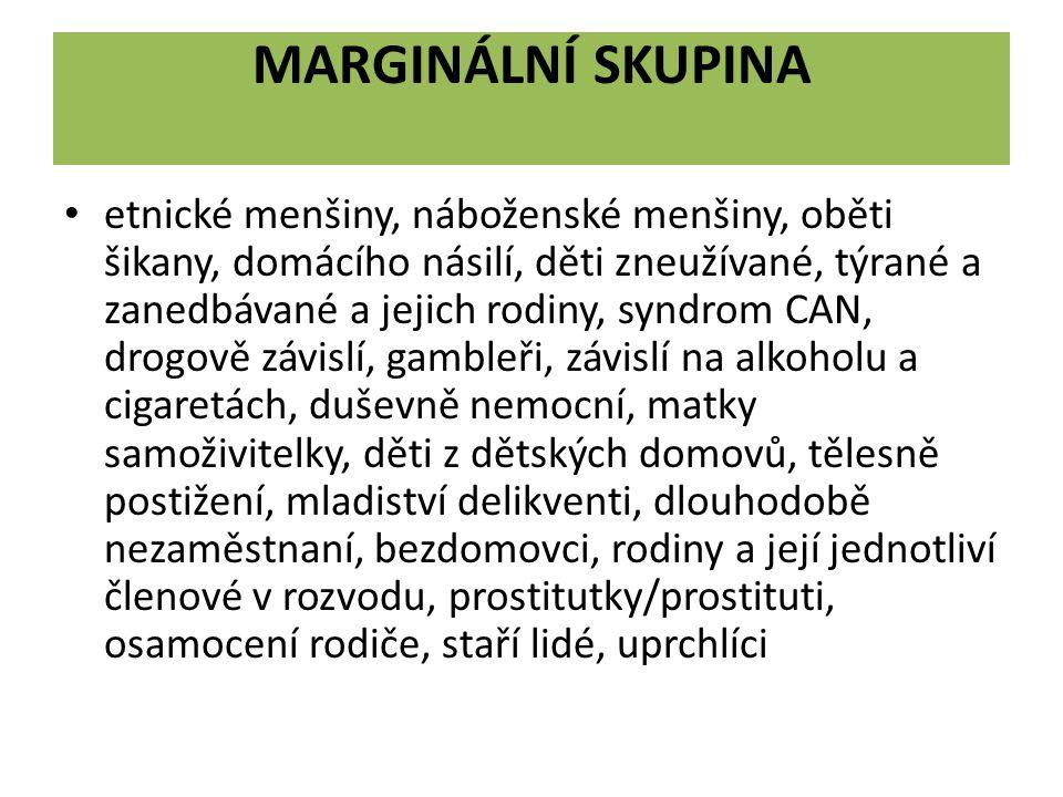 Marginální skupina