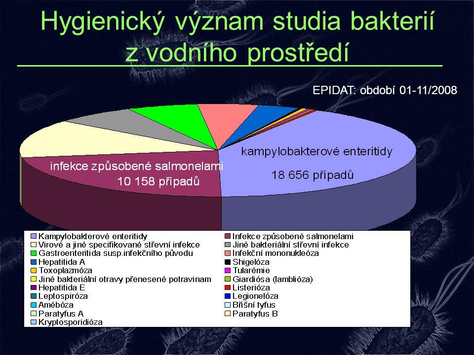 Hygienický význam studia bakterií z vodního prostředí