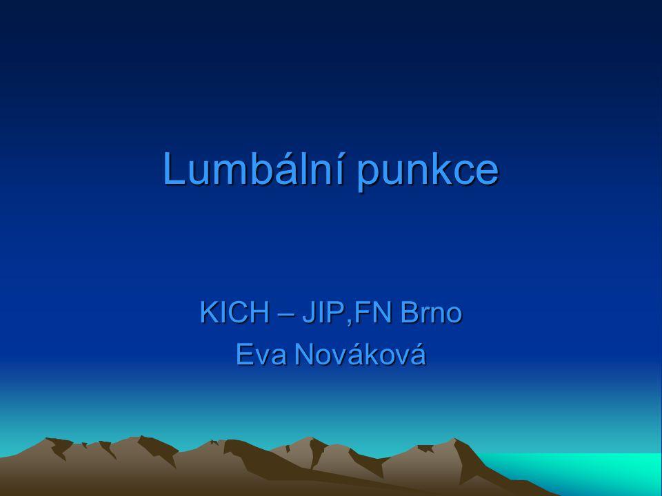 KICH – JIP,FN Brno Eva Nováková