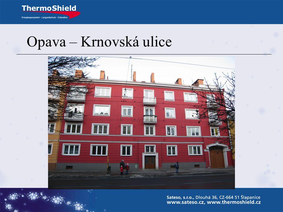Opava – Krnovská ulice