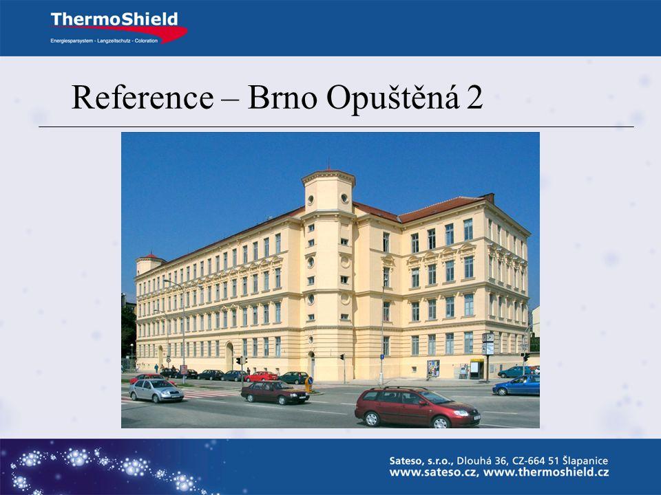 Reference – Brno Opuštěná 2