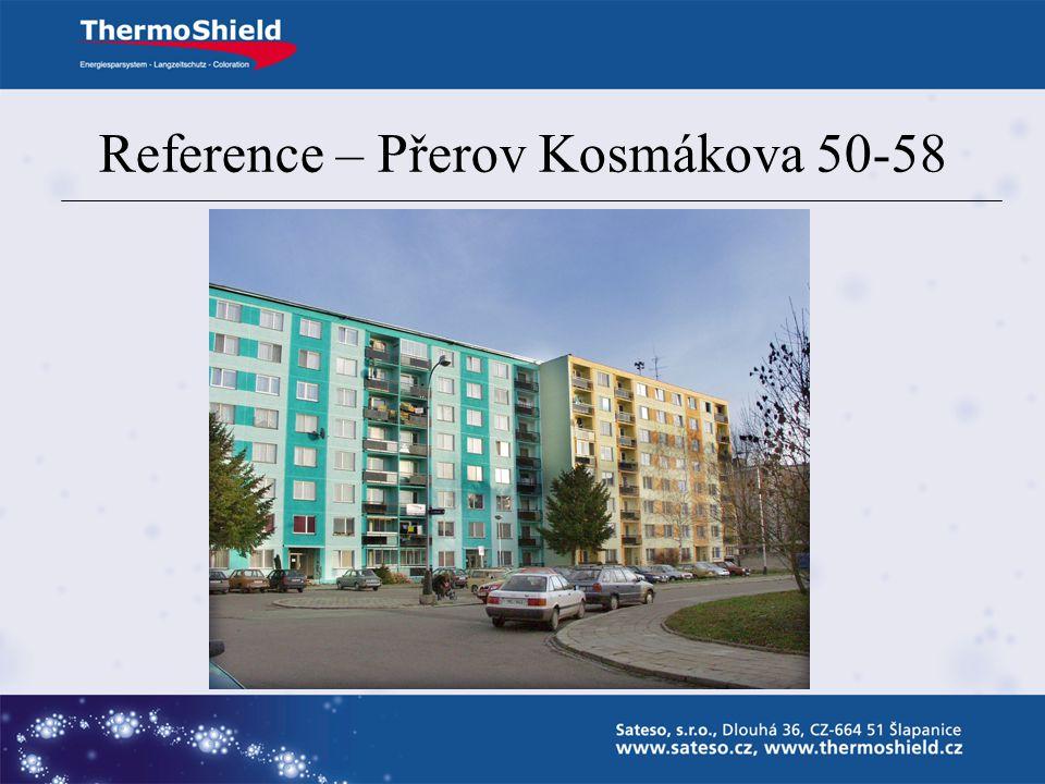 Reference – Přerov Kosmákova 50-58