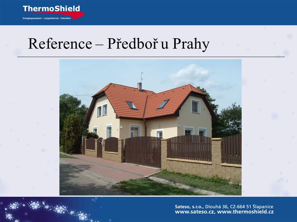 Reference – Předboř u Prahy