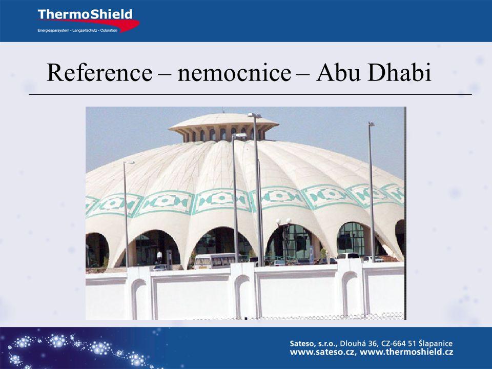 Reference – nemocnice – Abu Dhabi