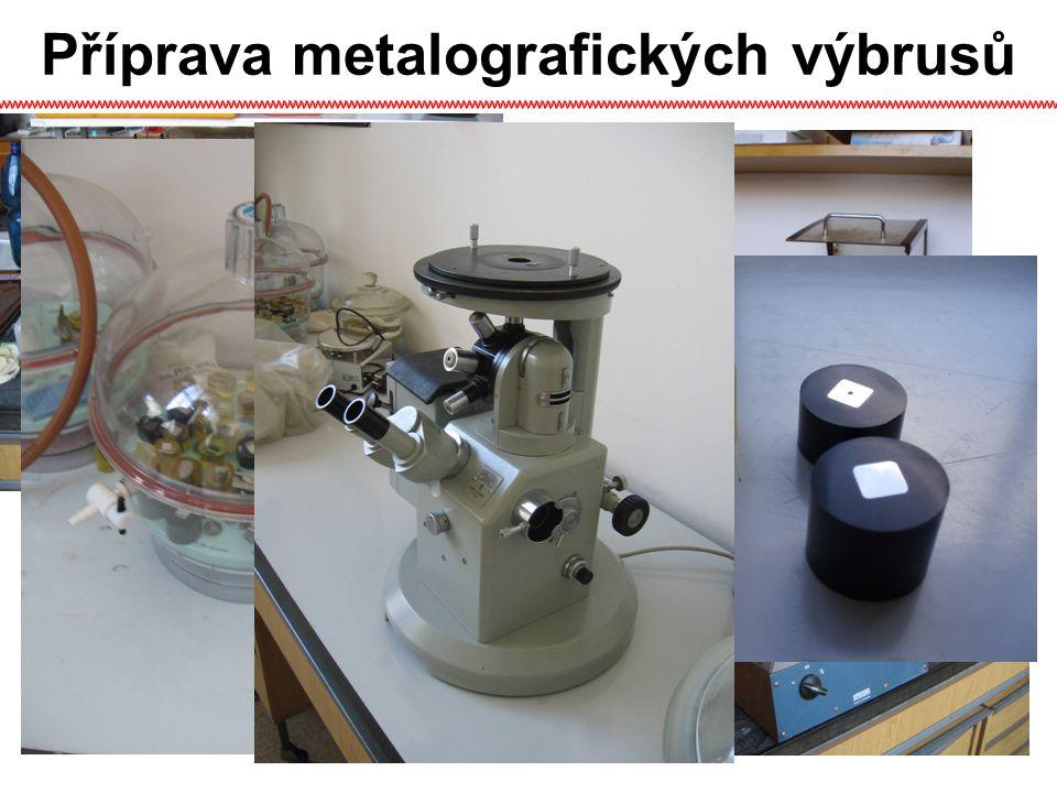 Příprava metalografických výbrusů