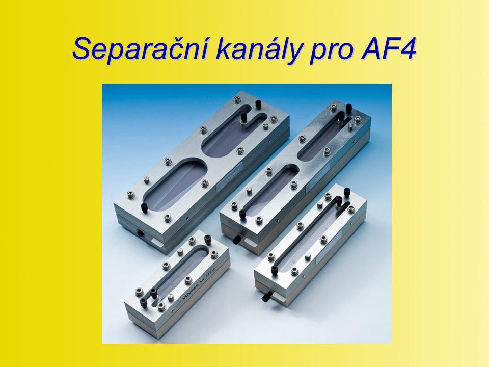 Separační kanály pro AF4