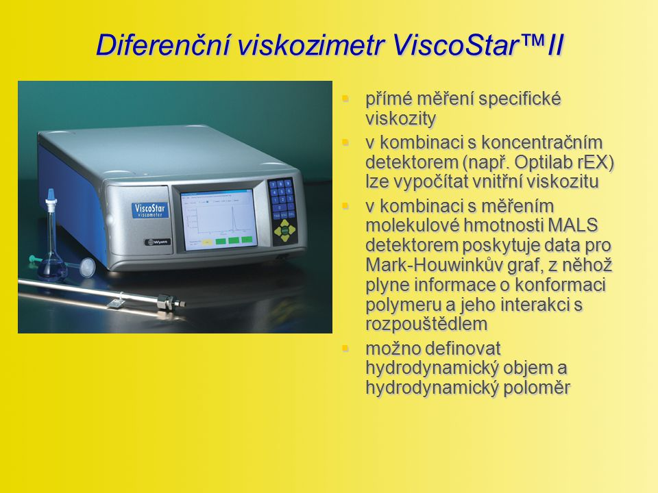 Diferenční viskozimetr ViscoStar™II