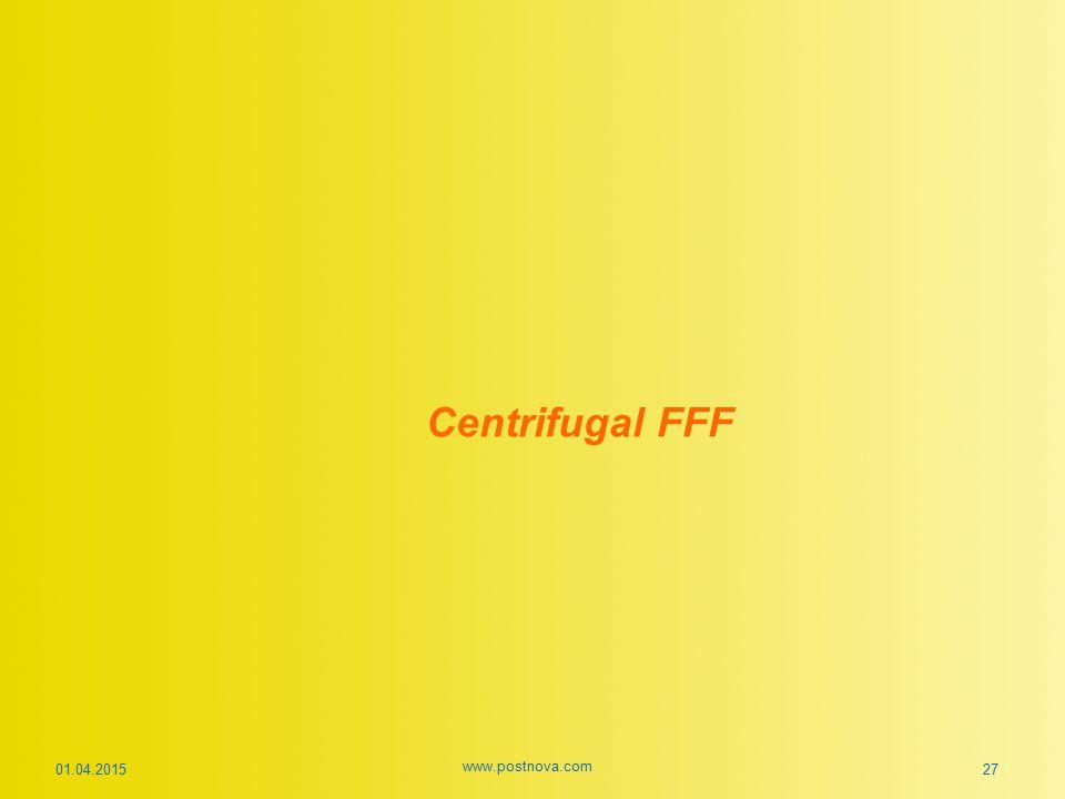 Centrifugal FFF 09.04.2017 www.postnova.com 27